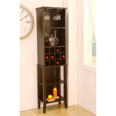 Hokku Designs Marbelle 12 Bottle Wine Cabinet