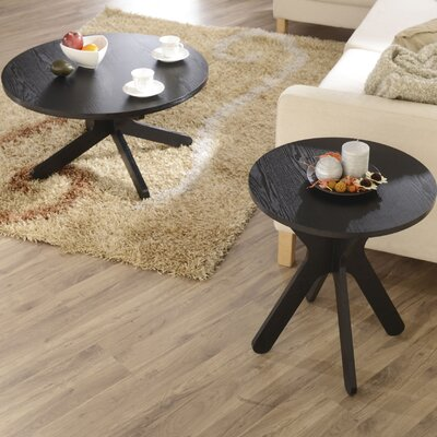 Hokku Designs 2 Piece Coffee Table Set