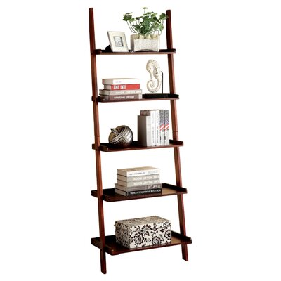 "Enitial Lab Quint 74.75"" Ladder Bookcase"