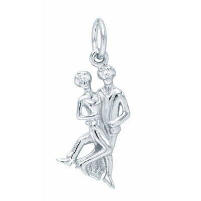 EZ Charms 1.9 Grams Sterling Silver Dancers Charm