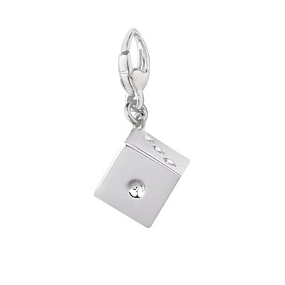 EZ Charms 1.9 Grams Sterling Silver Die (Dice) Charm