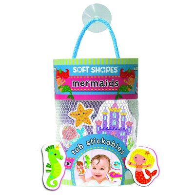 Mermaid Soft Shape Stickables Tub