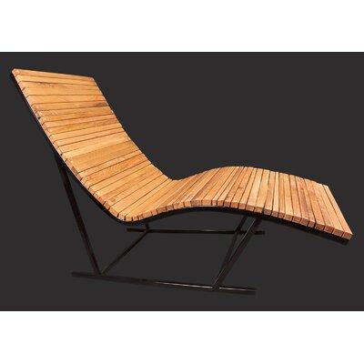 Shiner International Lumberyard Chaise Lounge