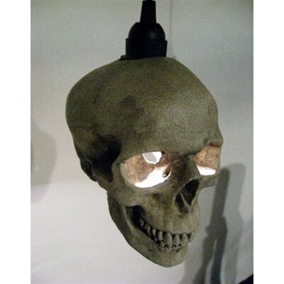Shiner International Skull 1 Light Mini Pendant