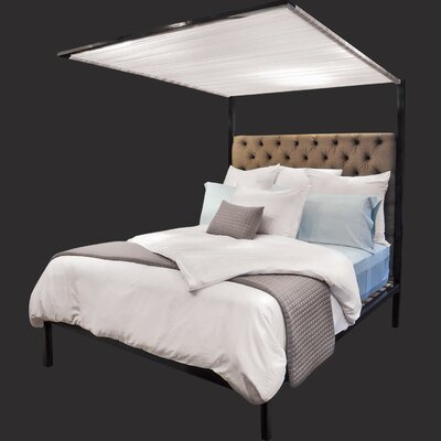 Shiner International Pith Canopy Bed