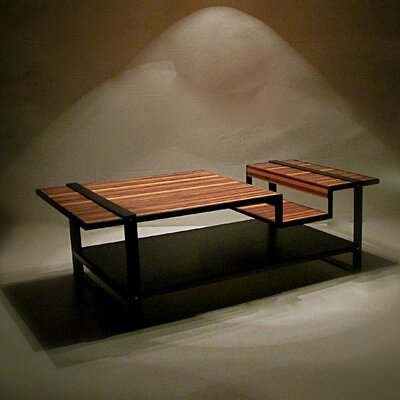 Shiner International Muir Coffee Table Set