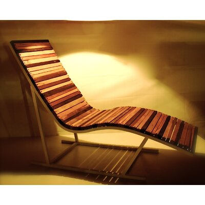 Shiner International Lumberyard Chaise Lounge