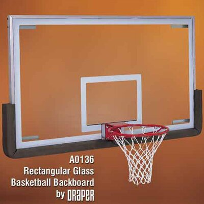 Draper Standard Glass Basketball Backboard