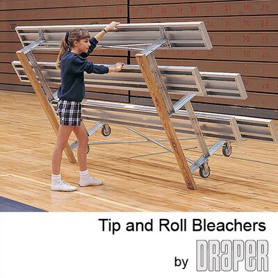 Draper Tip and Roll Bleachers