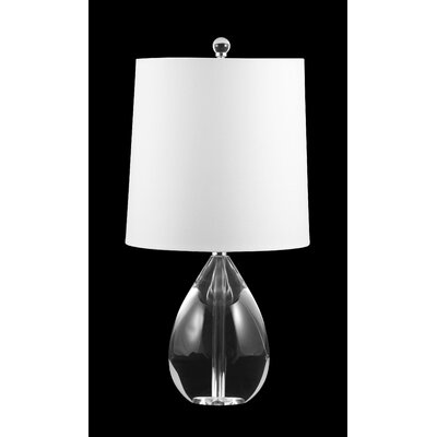 Lamp Works Crystal Teardrop Table Lamp