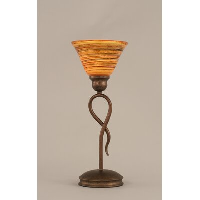 Toltec Lighting Leaf Mini Table Lamp