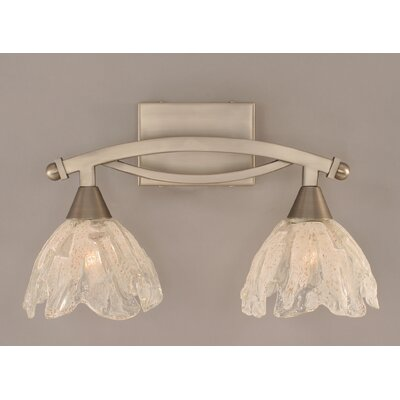 Toltec Lighting Bow 2 Light Bathroom Vanity Light