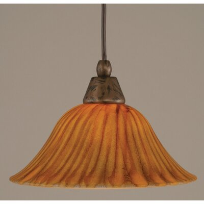 Toltec Lighting 1 Light Any Cord Mini Pendant