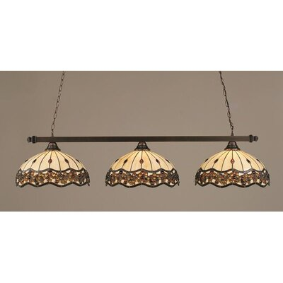 Toltec Lighting 3 Light Kitchen Island Pendant