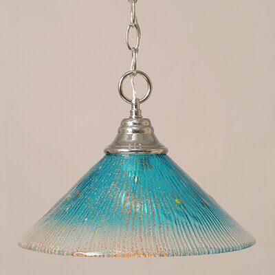 Toltec Lighting 1 Light Downlight Pendant