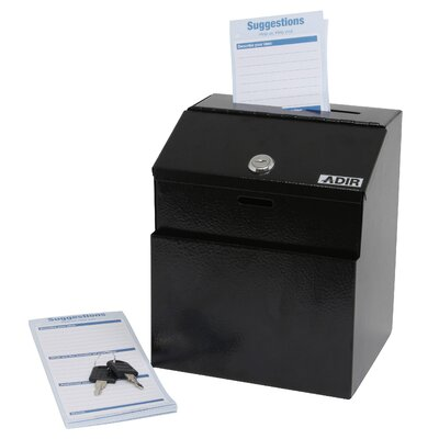 Adir Corp Keyed Suggestion Drop Box
