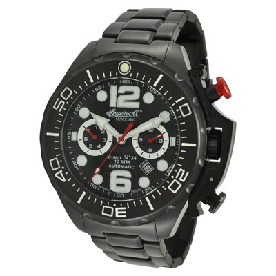 Ingersoll Watches Men's Bison Watch No.34 in Black