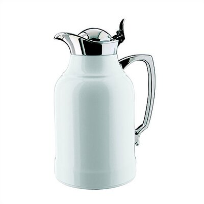 Alfi Opal 1.5-Liter White lacquered Thermal Carafe