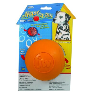 J.W. Pet Company Amaze-A-Ball Dog Toy