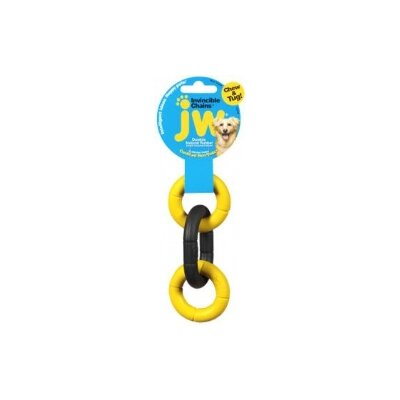 J.W. Pet Company Mini Invincible Chains Triple Dog Toy