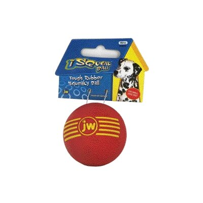 J.W. Pet Company Isqueak Ball Dog Toy
