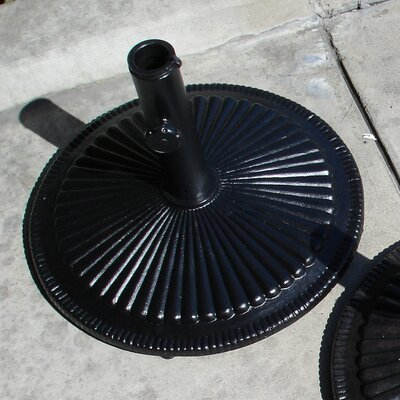 AIC Garden & Casual Free Standing Aluminum Shell Umbrella Base