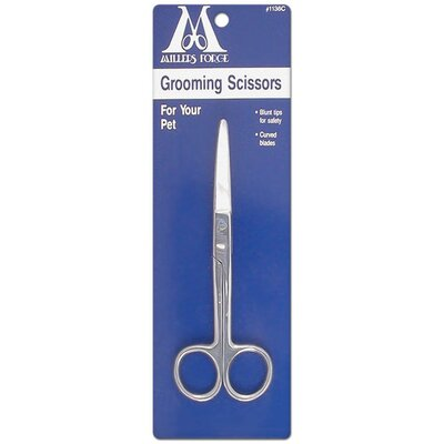Millers Forge Curved Groom Scissors Pet Shears