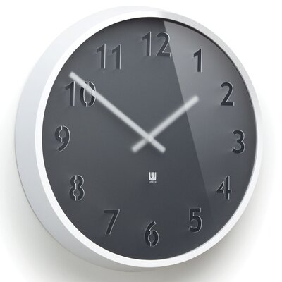 "Umbra 12.25"" Clairo Wall Clock"