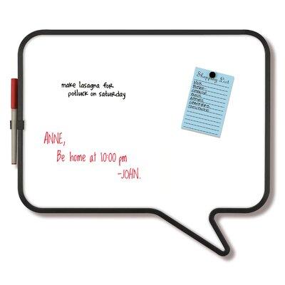"Umbra Talk Bubble 1'3"" x 1'5"" Dry Erase Board"