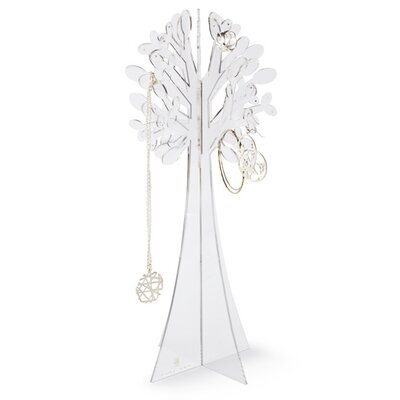 Umbra Laurel Clear Acrylic Jewelry Tree
