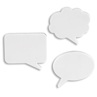 Umbra Talk Bubble Magnet (Set of 3)