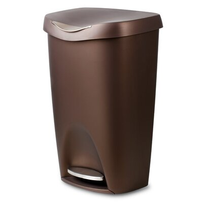 Brim 13-Gal. Step Waste Can