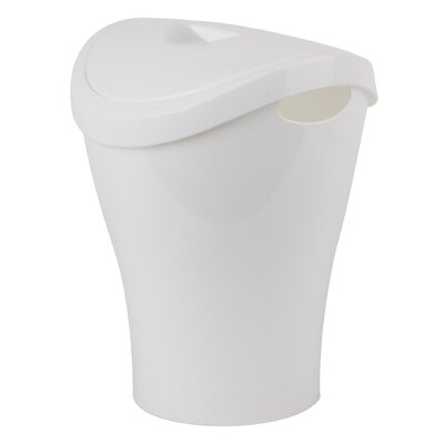 Swingo 2.5-Gal. Swing-Top Waste Can