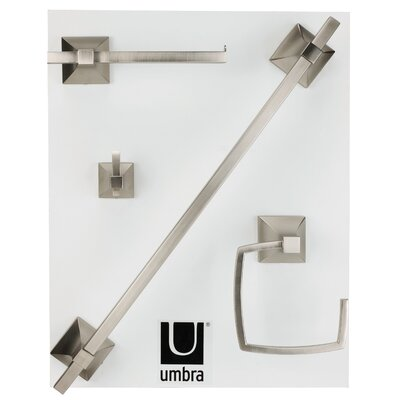 Umbra Zen 4 Piece Bathroom Hardware Set