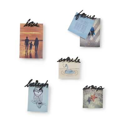 5 Piece Small Talk Photo Display Set