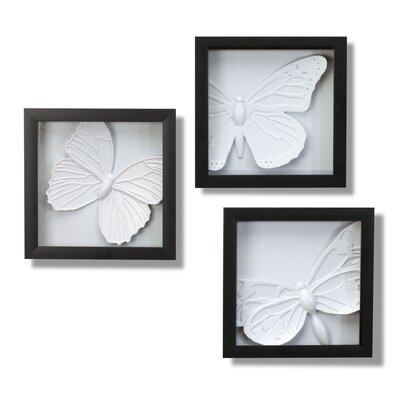 Umbra 3 Piece Papila Shadowboxes Wall Décor