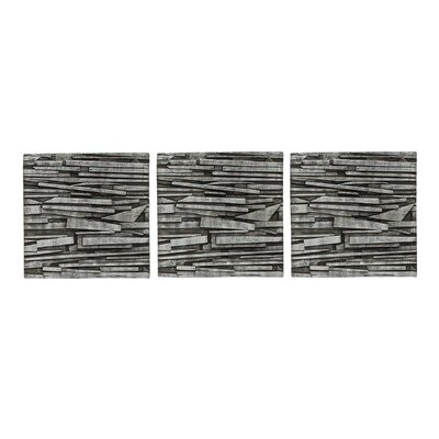 Umbra Tali Wall Art in Charcoal (Set of 3)