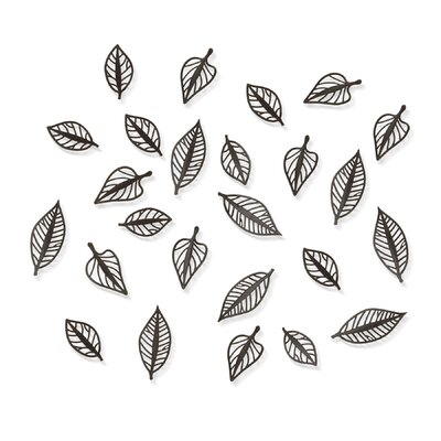 Umbra Natura Wall Art in Espresso (Set of 24)