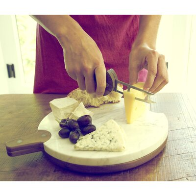 Umbra U+ Tambourine Cheese Board and Knives