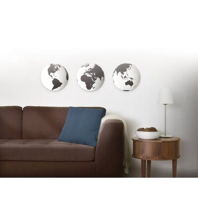 Umbra Globo Mirrored Wall Decor Tiles (Set of 3)