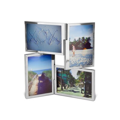 Umbra Fourfold Four-Opening Collage Picture Frame