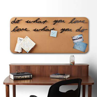 "Umbra Mantra ""Do What You Love"" Phrase Wall Décor"