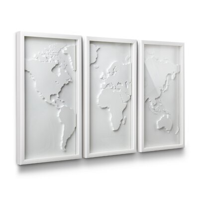 Umbra Mapster Wall Décor (Set of 3)