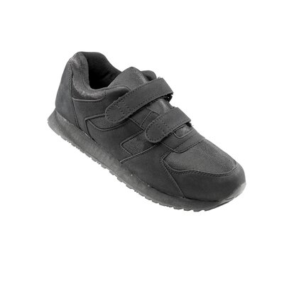 Silvert's Mens Running Shoe in Black