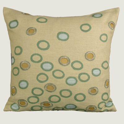 Kevin O'Brien Studio Crochet Ovals Decorative Pillow