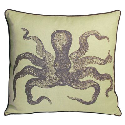 Kevin O'Brien Studio Cuttlefish Decorative Pillow