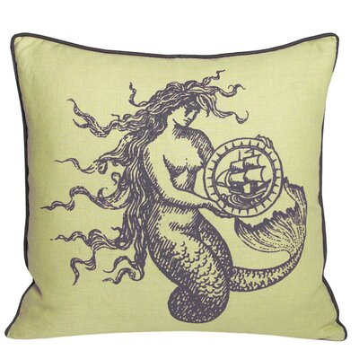Kevin O'Brien Studio Mermaid Decorative Pillow