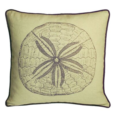 Sand Dollar Decorative Pillow
