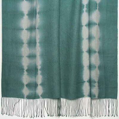 Kevin O'Brien Studio Shibori Tye-Dye 2-Ply Cashmere / Merino Throw