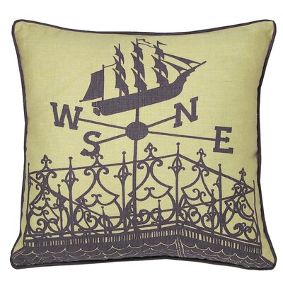 Kevin O'Brien Studio Widow's Walk Decorative Pillow